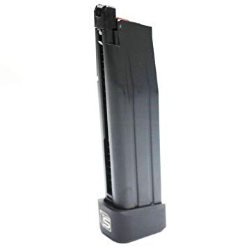 EMG / AW Salient Arms Licensed 2011 DS Hi-capa Gas Magazine - BK