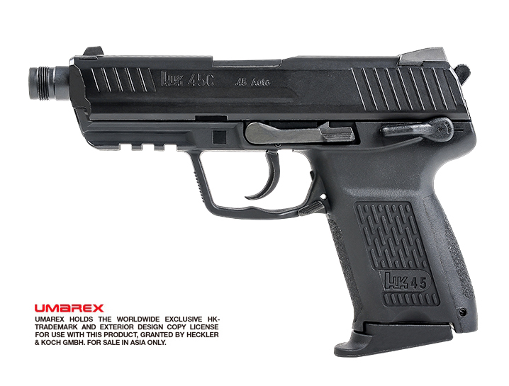 VFC (Umarex) HK45 Compact Tactical GBB Pistol (Asia Edition)