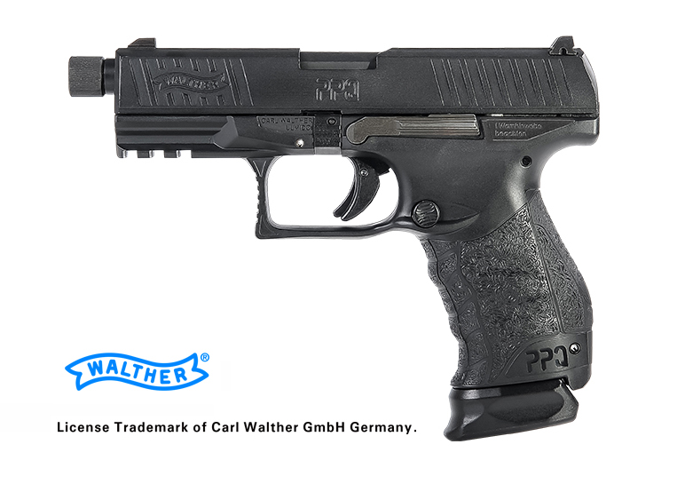 VFC (Umarex) Walther PPQ M2 Navy GBB Pistol - BK (Asia Edition)