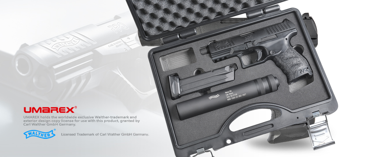 Stark Arms / VFC Walther Licensed PPQ Navy Duty Kit GBB Pistol