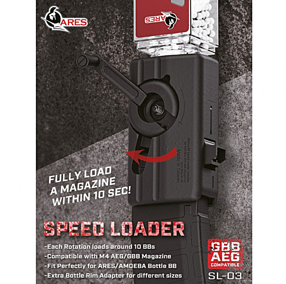 Ares SL-03 Crank Style High Capacity Speed Loader