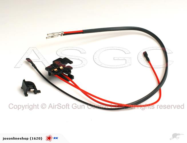 SRC Switch Assembly for M4/M16 Series AEG (Rear)