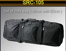SRC 86cm + 60cm Rifle & SMG Combo Carrying Bag