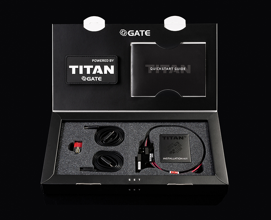GATE TITAN NGRS V2 AEG Control System - Advance Ver. (Rear)