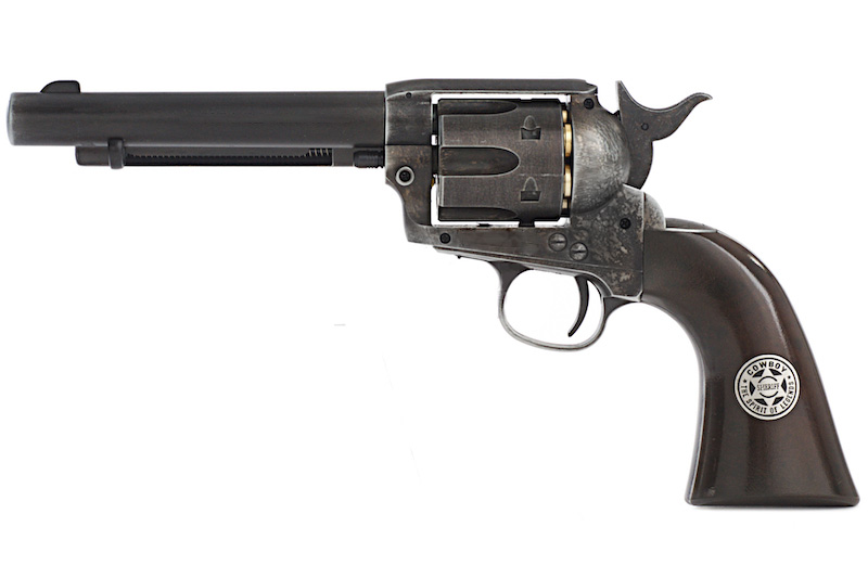 Umarex (WG) SAA .45 Peacemaker Revolver - Sheriff Ver. Weathered