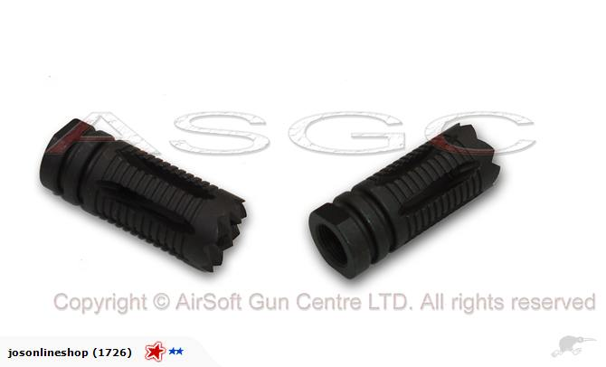 SRC Steel Attack Flash Hider (14mm Negative)