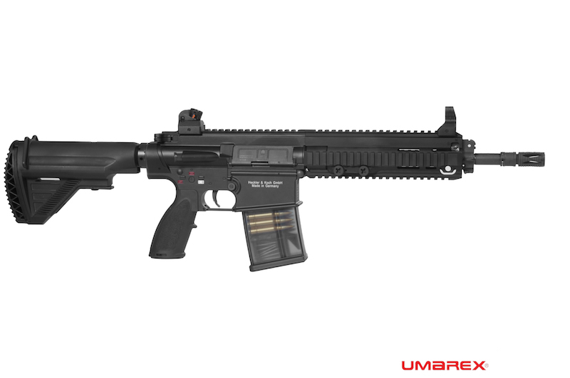 "VFC (Umarex) HK417 12"" AEG Rifle - Black"