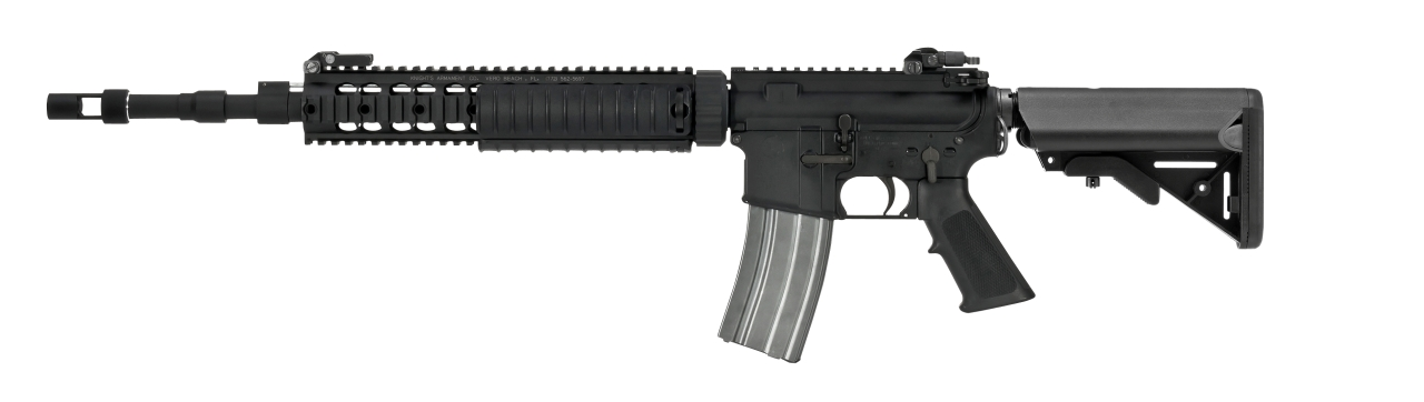 VFC Colt MK12 Mod 1 AEG M4 Rifle with Crane Stock - BK