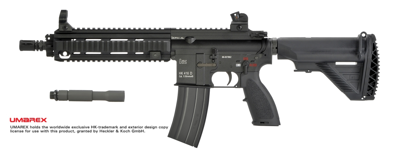 VFC / UMAREX HK 416 D GBB Rifle - New Version