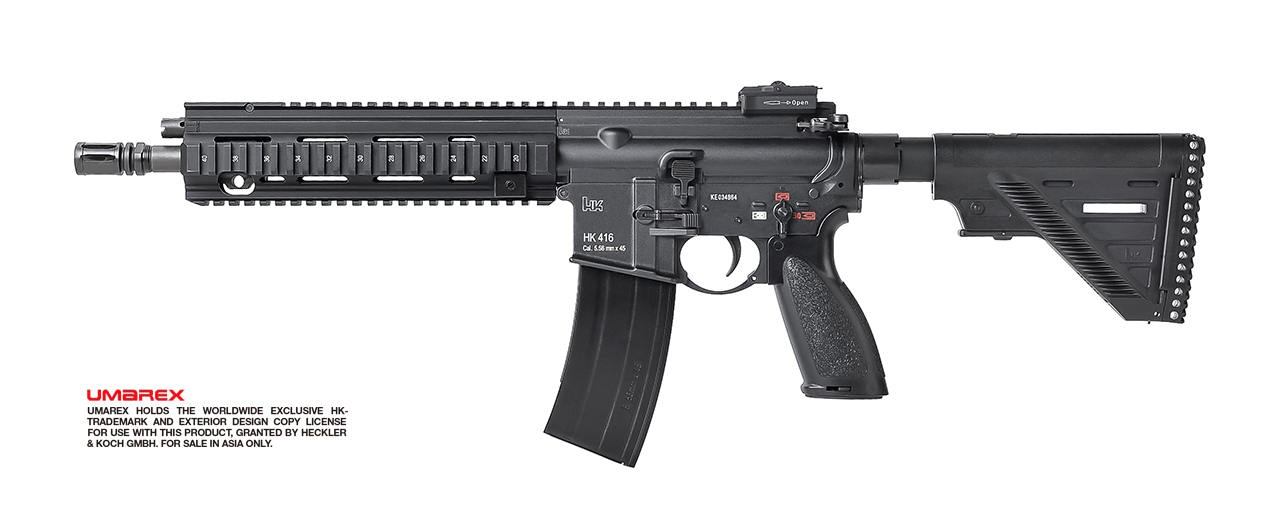 VFC (Umarex) HK 416 A5 GBB Rifle - Black (Asia Edition)