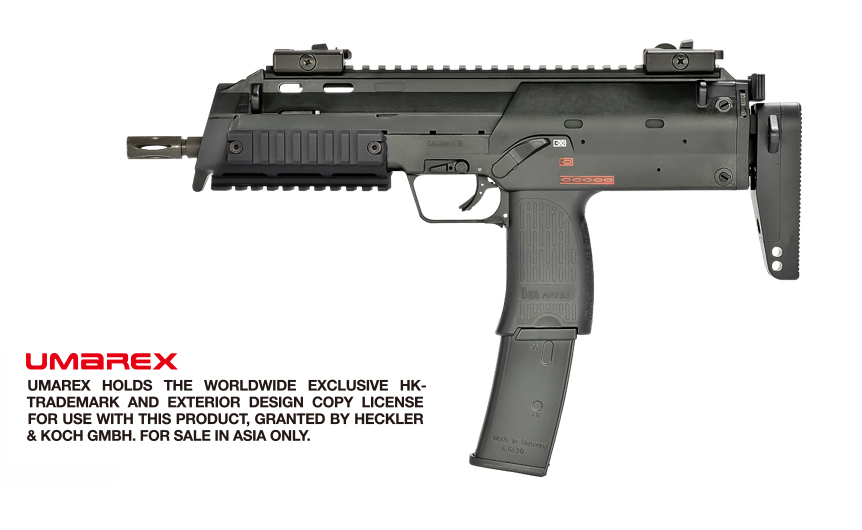 VFC (Umarex) MP7 Navy GBB SMG - Black (2018 V2, Asia Version)