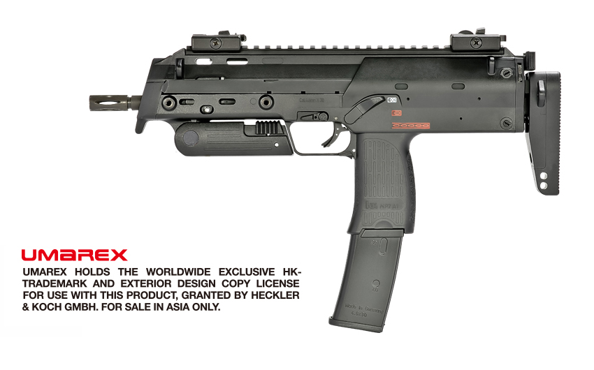 VFC (Umarex) MP7A1 GBB SMG - Black (2018 V2, Asia Version)