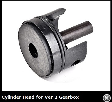 VFC Cylinder Head for Ver 2 Gearbox
