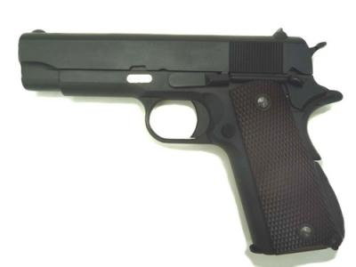 "WE 1943 4.3"" 1911 Full Metal Gas Blowback Pistol - Black"