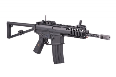 WE KAC PDW Full Metal AEG Rifle - Black