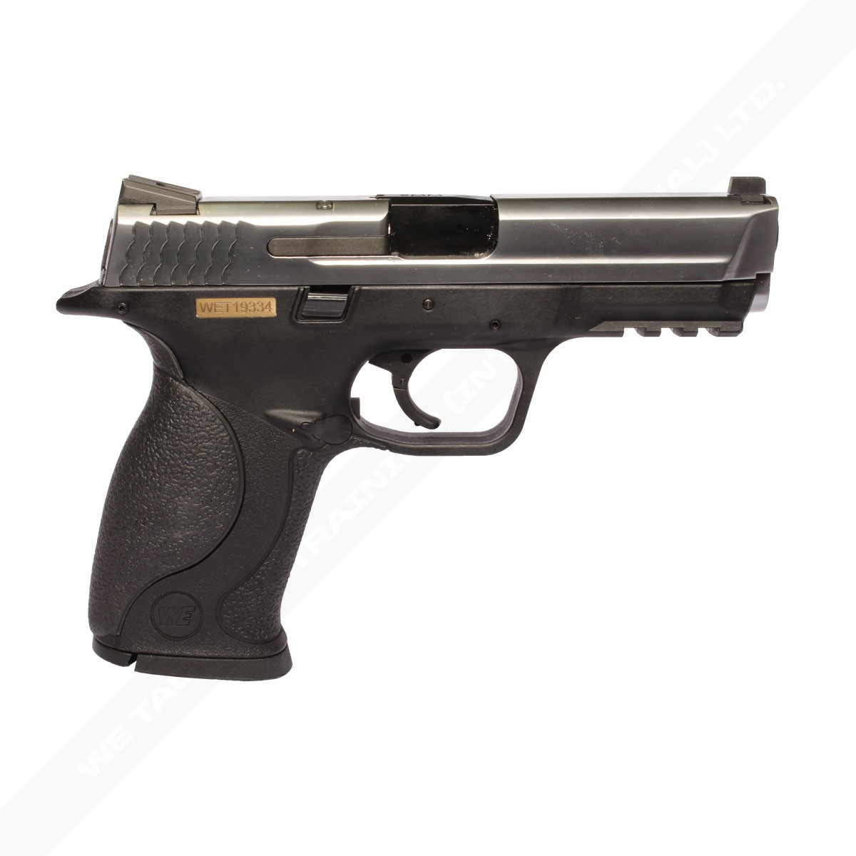 WE Big Bird / M&P 9 Gas Blowback Pistol - Silver