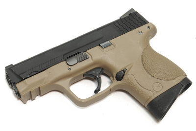 WE Small Bird / M&P Compact GBB Pistol - Dragon Scale, TAN