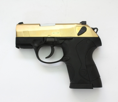 WE PX4 Compact Metal Slide Gas Blowback Pistol - GOLD