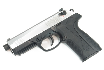 WE PX4 / BullDog Gas Blowback Pistol - Silver Slide
