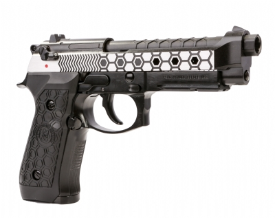 WE M9A1 Hex Cut (New Gen) Full Metal GBB Pistol - Two Tone