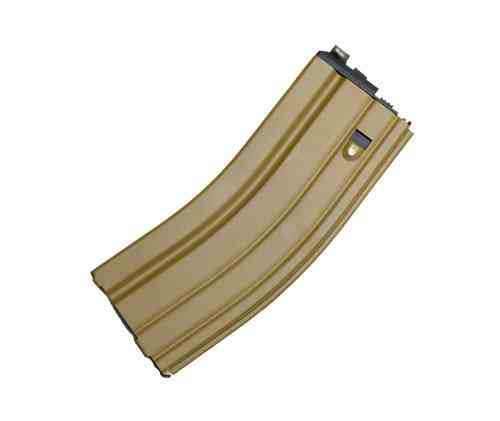 WE M4 / SCAR Type 30rds GBB Magazine - Open Bolt, TAN