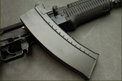 WE 30 Rounds Gas Magazine For AK-74UN GBB
