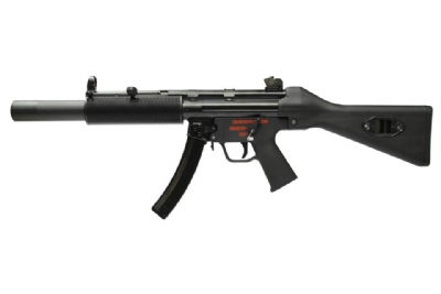 WE MP5 SD1 APACHE Steel Receiver GBB SMG - Fixed Stock