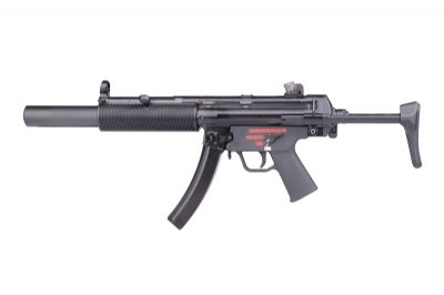 WE MP5 SD3 APACHE Steel Receiver GBB SMG - Retractable Stock