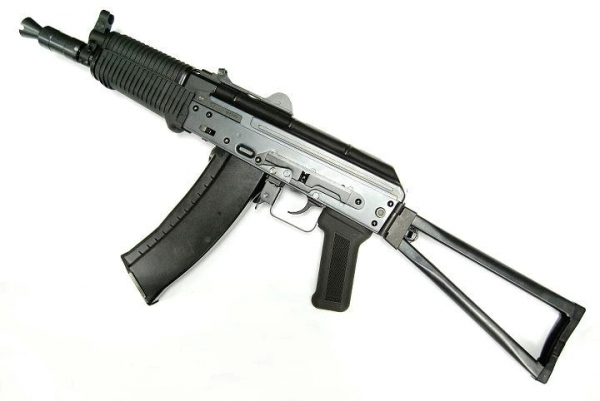 WE AK74UN Full Steel Gas Blowback Rifle - Black