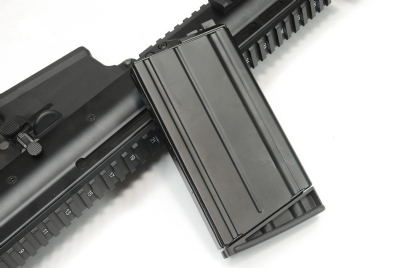 WE 30rds SCAR-H / MK17 GBB Magazine - Black