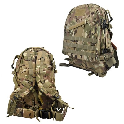 WOLF FORCE MOLLE MILITARY TACTICAL RUCKSACK BACKPACK - CP