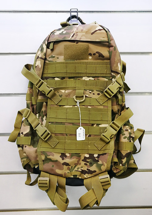 Wolf Force Tactical Gear Molle BackPack w/ Belt System - CP / MC