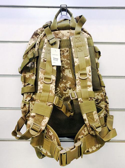 Wolf Force Tactical Gear Molle BackPack w/ Belt System - Digi