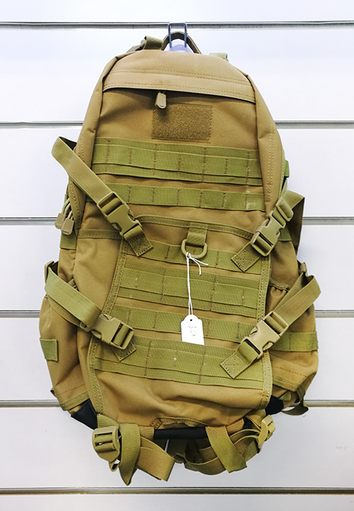 Wolf Force Tactical Gear Molle BackPack w/ Belt System - Tan