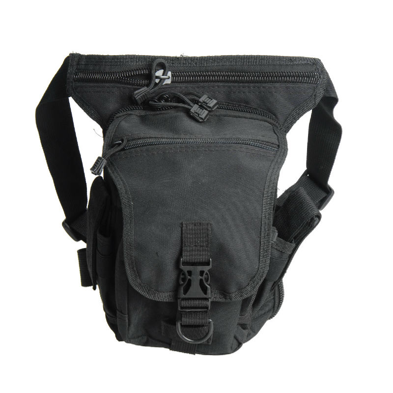 Wolf Force Tactical Drop Leg Utility Pouch - BK