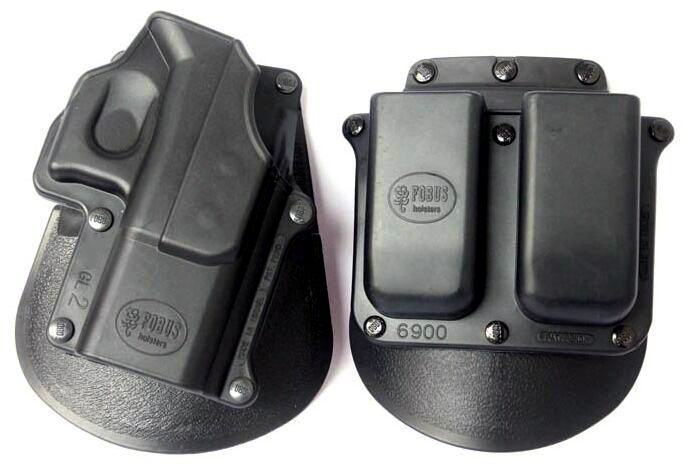FBS Glock Paddle Holster & Dual Magazine Paddle Holder
