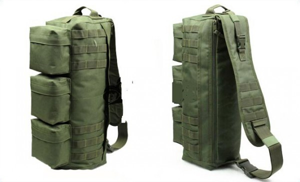 Wolf Force Transformers Molle Tactical Shoulder Go Pack Bag - OD