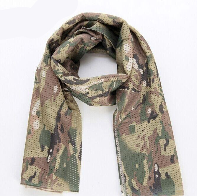 Wolf Force Tactical Multifunctional Scarf / Neck Wrap - MC / CP