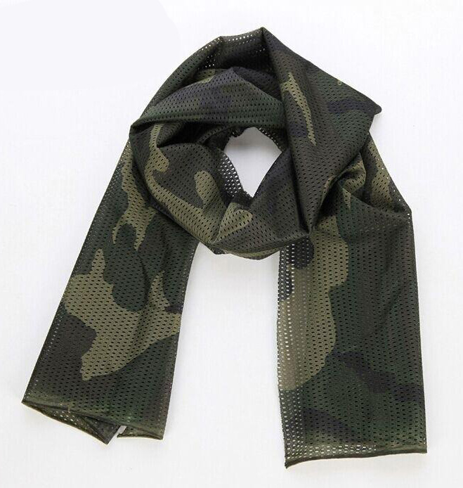 Wolf Force Tactical Multifunctional Scarf / Neck Wrap - Woodland