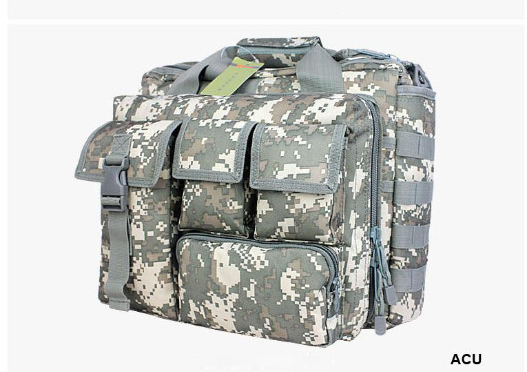 Wolf Force Tactical Molle Messenger Laptop Bag - ACU