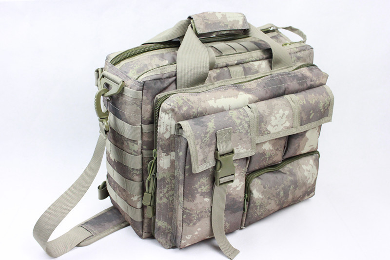 Wolf Force Tactical Molle Messenger Laptop Bag - ATACS