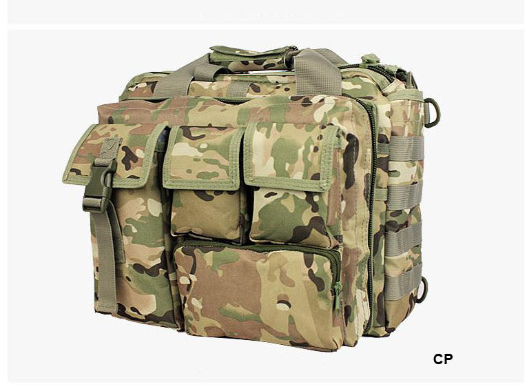 Wolf Force Tactical Molle Messenger Laptop Bag - CP