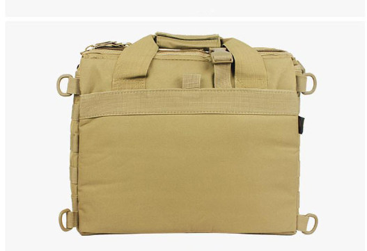 Wolf Force Tactical Molle Messenger Laptop Bag - TAN