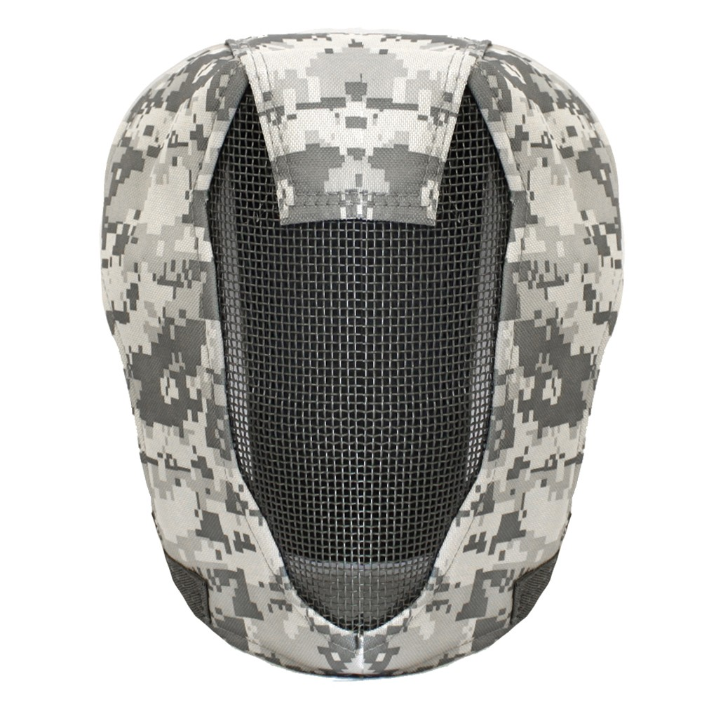 "Wolf Force Steel ""Striker"" Gen4 Metal Mesh Full Face Mask - ACU"