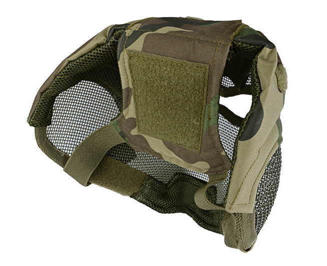 Wolf Force V7 Watchers Full Face Mesh Mask - Woodland