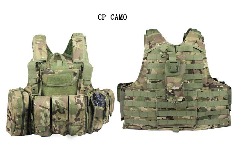 WOLF FORCE CIRAS TACTICAL COMBAT SYSTEM Plate Carrier - MC / CP