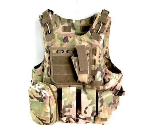 WOLF FORCE FSBE ASSAULT TACTICAL FIGHTING LOAD Carrier - MC / CP