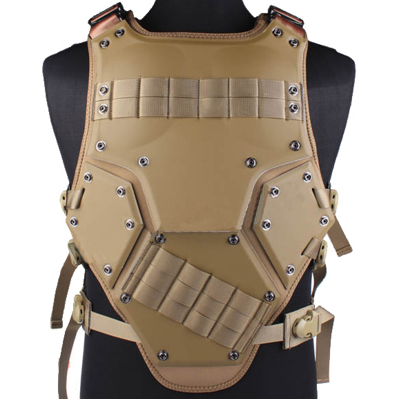 WOLF FORCE Transformers NEST Team Tactical Foam Vest - Tan