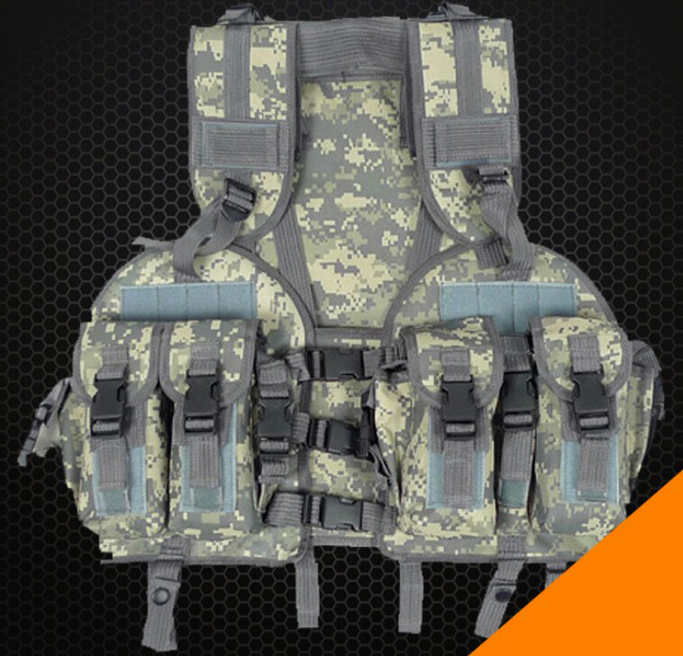 Wolf Force Navy Seals Tactical LBV Vest - ACU