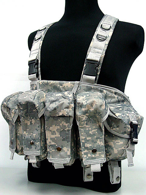 Wolf Force R.S.E. Tactical AK Chest Rig - ACU